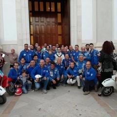 Tour dei Vespa Club nelle terre di Federico II