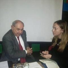 Ugo Villani e Antonella Filannino