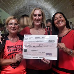 """""""Io corro e cammino per voi"""", consegnati i fondi all'Unitalsi Barletta"""