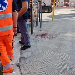 Uomo senza vita in Corso Vittorio Emanuele, forse accoltellato