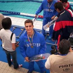 Fabrizio Addamiano, campione di Barletta, allena i futuri talenti del nuoto