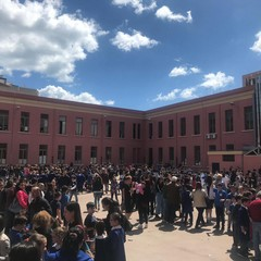 Evacuata la scuola Musti