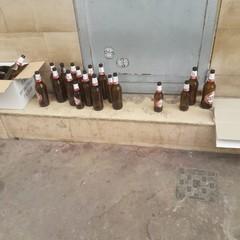 Birra e degrado in Largo San Nicola