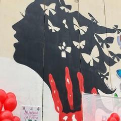 A Barletta un murale contro la violenza sulle donne