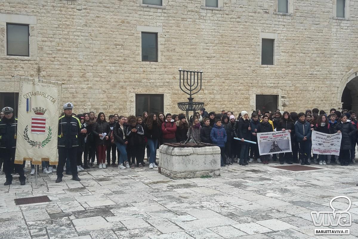 Giorno della Memoria, gli studenti riuniti al Castello