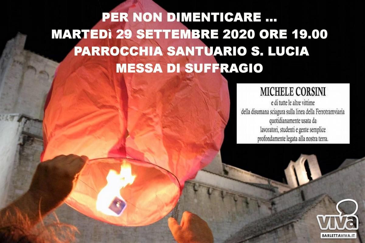 Per non dimenticare, una messa in memoria di Michele Corsini