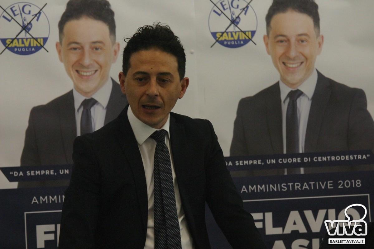 Flavio Basile candidato sindaco a Barletta per la Lega ...