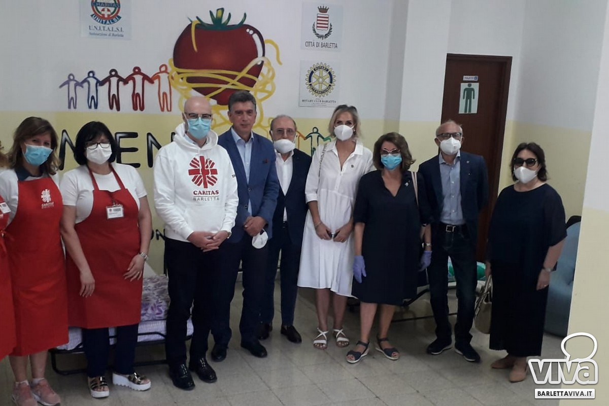 Rotary Club, donazione a favore della Caritas Barletta