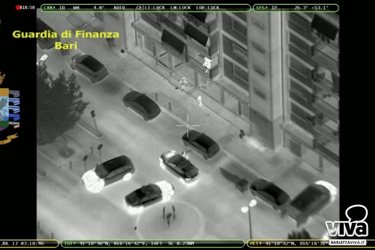 All'alba elicottero su Barletta, in azione la Guardia di Finanza