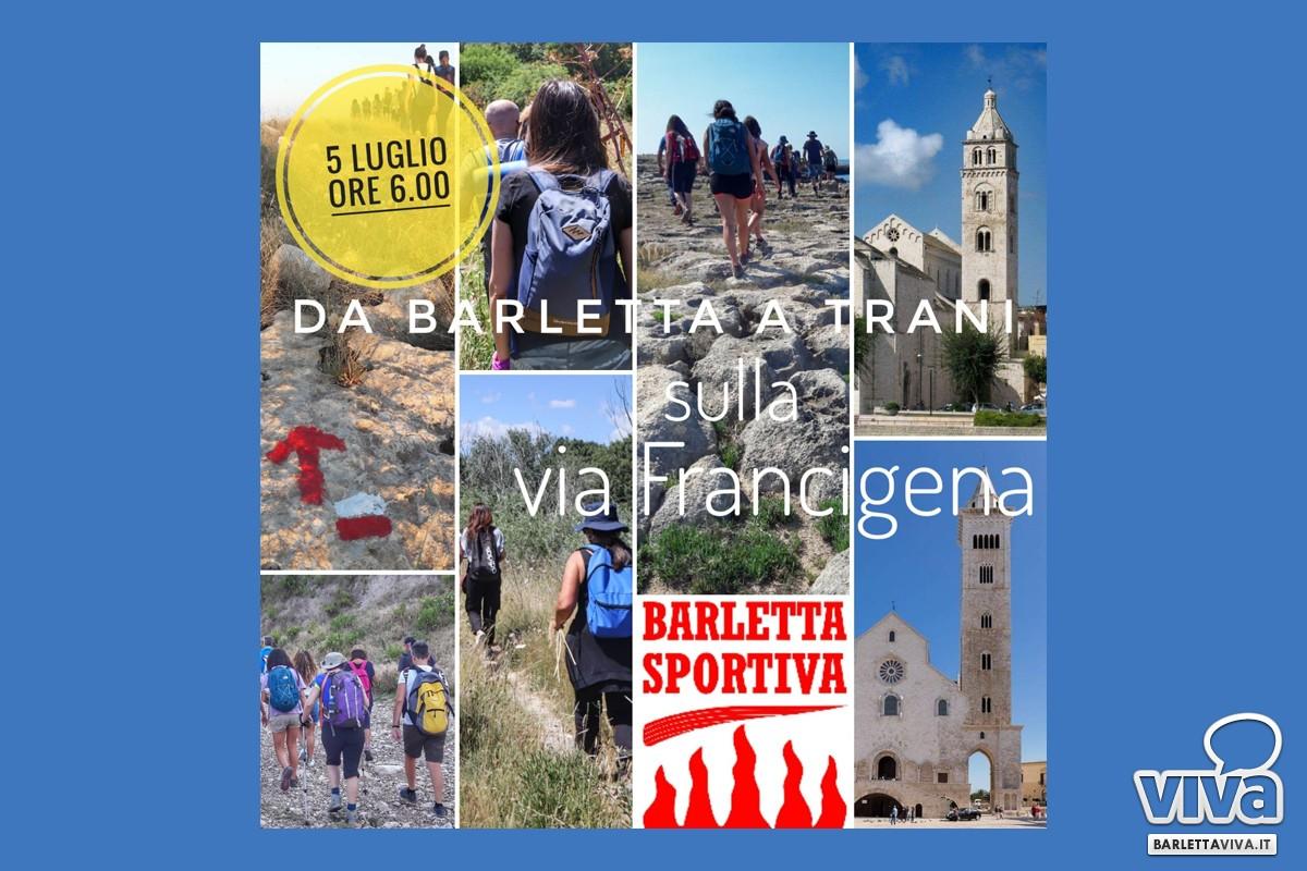 Da Barletta a Trani a piedi sulla Via Francigena