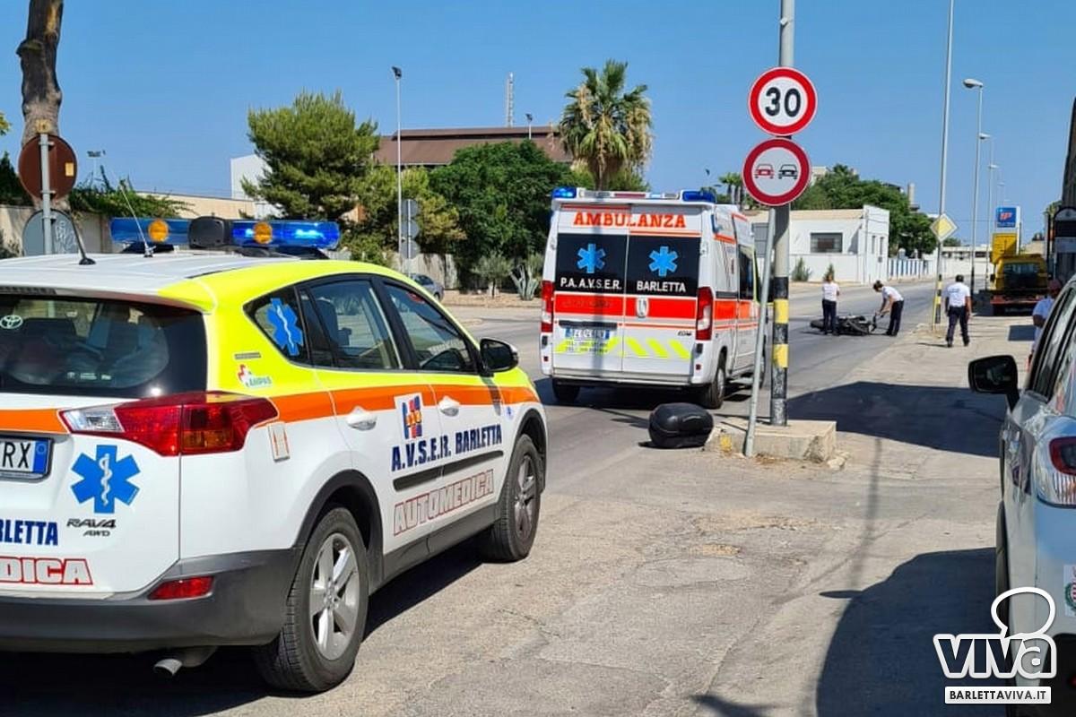 Incidente via Trani