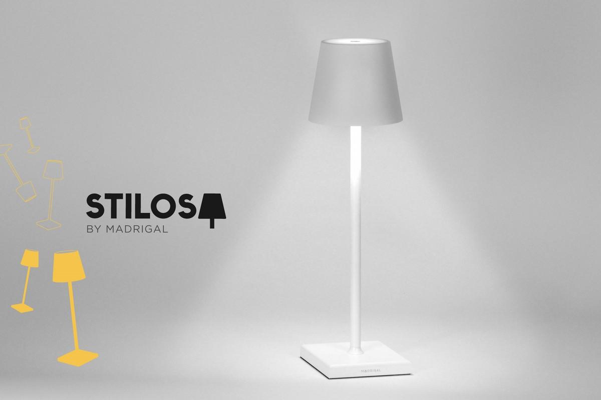La lampada ricaricabile senza fili di Madrigal