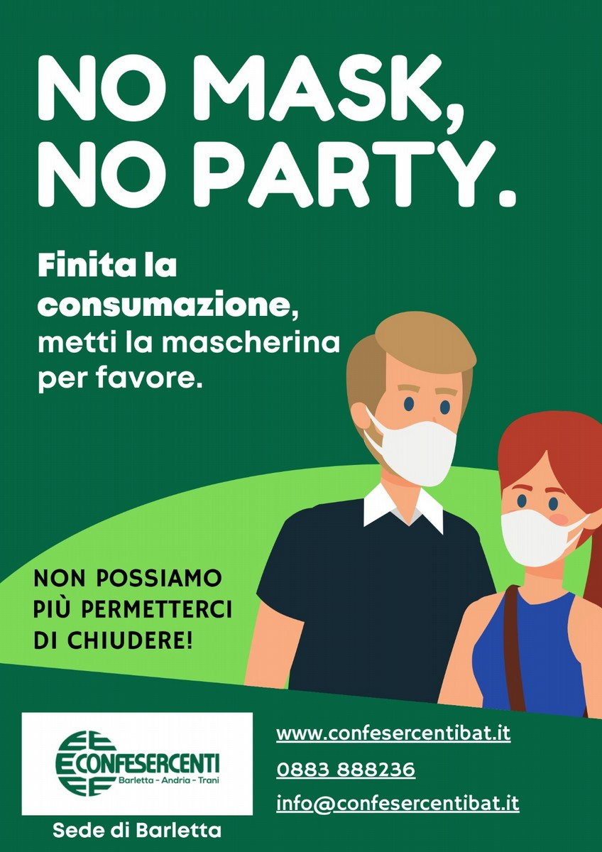 No Mask No Party
