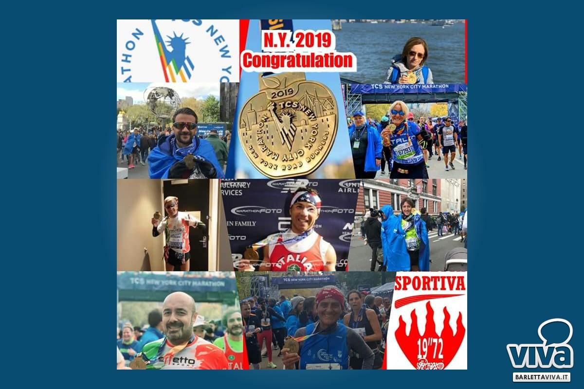 Barletta Sportiva alla Maratona di New York