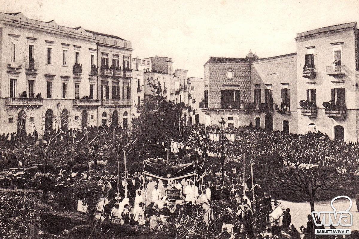 """Venerdì Santo, la processione e il """"Voto"""" di Barletta nel 1656"""