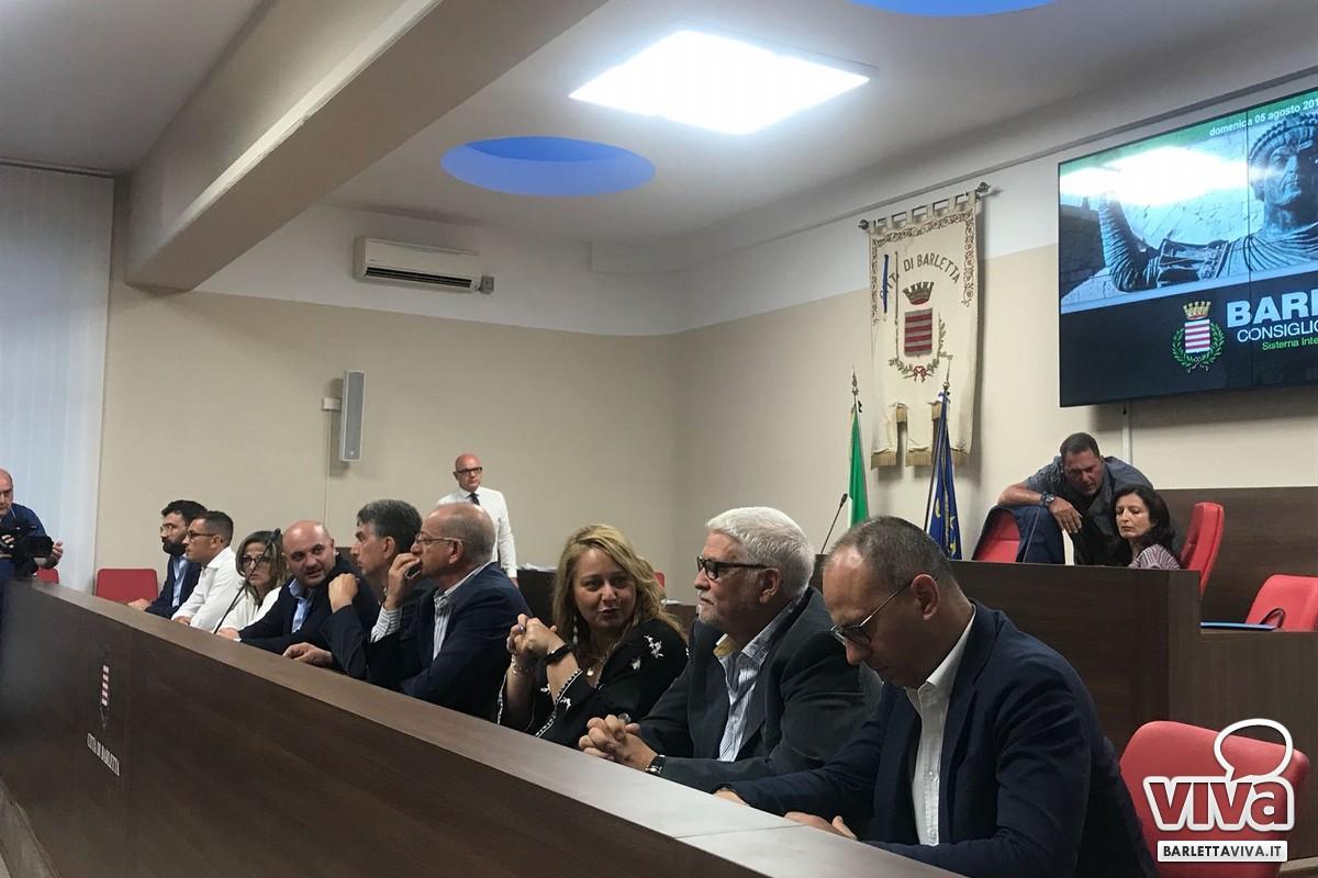 Consiglio comunale del 5 agosto 2018