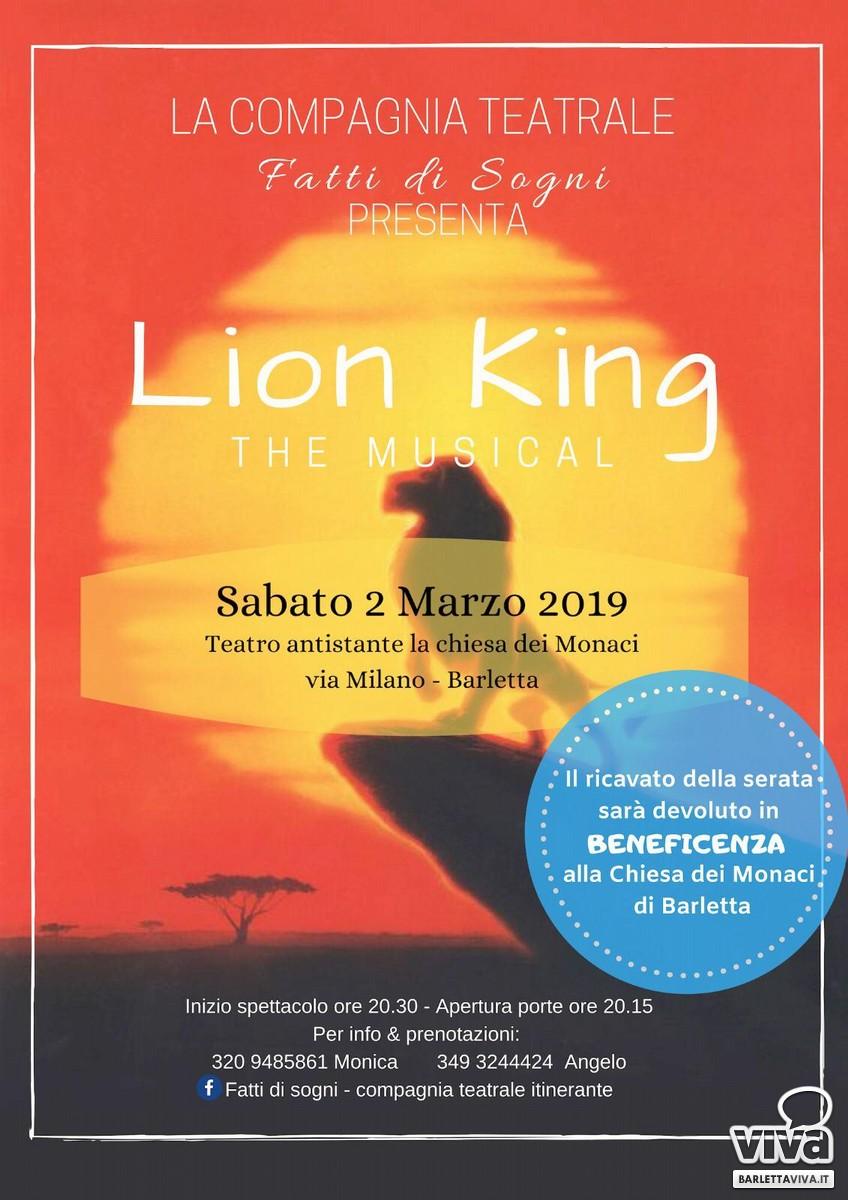 Lion King, la locandina