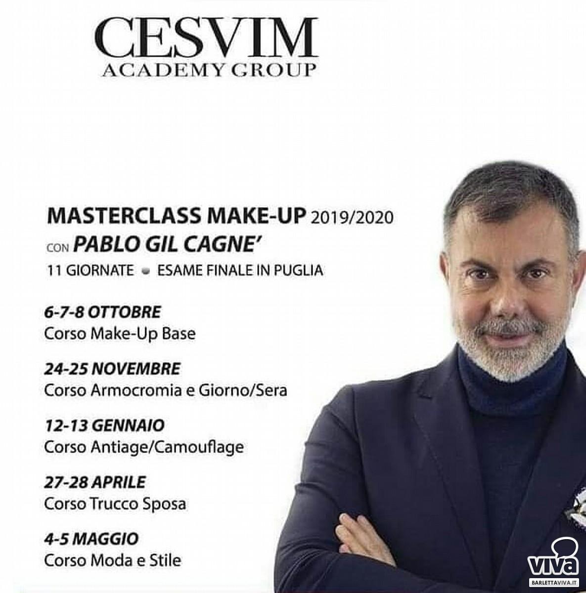 Pablo Gil Cagnè con Cesvim Academy a Trani