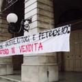 Protesta contro centrale a biomasse