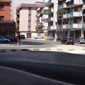 Traffico in via Alvisi
