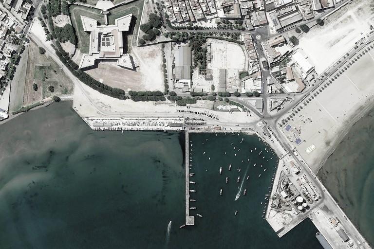 Immagine aerea della Lega Navale