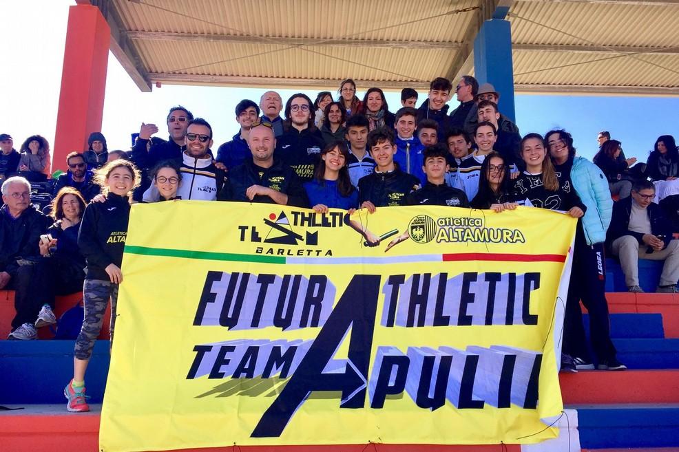 Futurathletic Team Apulia: serie B per la squadra maschile degli allievi - BarlettaViva