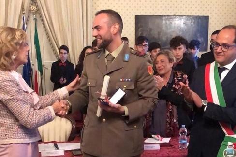 Medaglia d'Oro al Caporal Maggiore Scelto Paolo Pascali