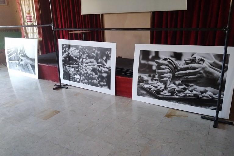 Mostra fotografica sui lavori artigianali presso il Circolo Unione