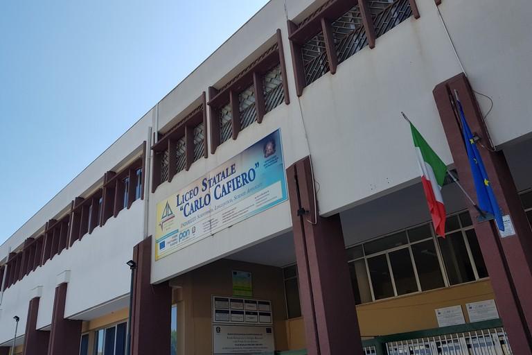 Liceo Cafiero di Barletta. <span>Foto Ida Vinella</span>