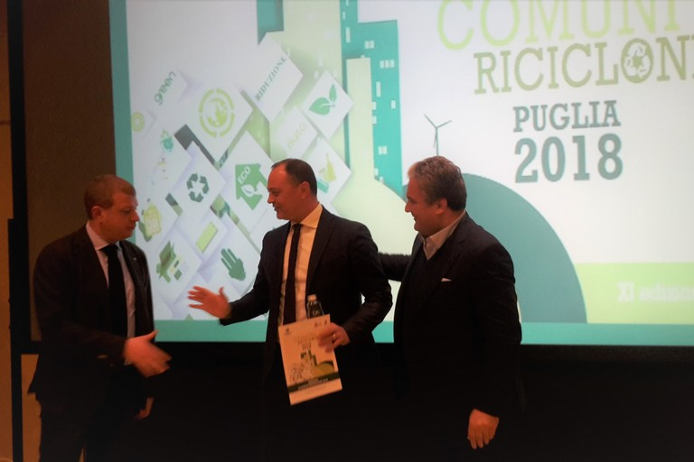 Comuni Ricicloni 2018, Barletta capoluogo di provincia più virtuoso in Puglia