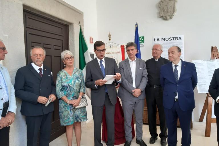 """Inaugurata la mostra """"Il Crollo di via Canosa, 60 anni dopo"""""""
