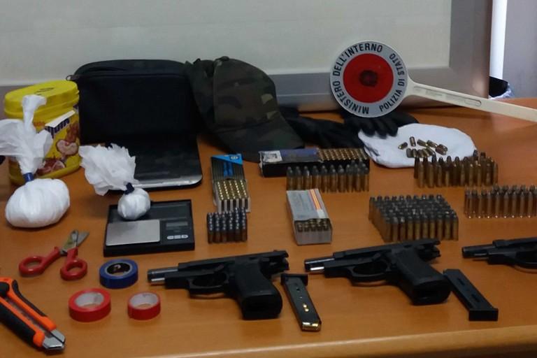 Armi e munizione sequestrate