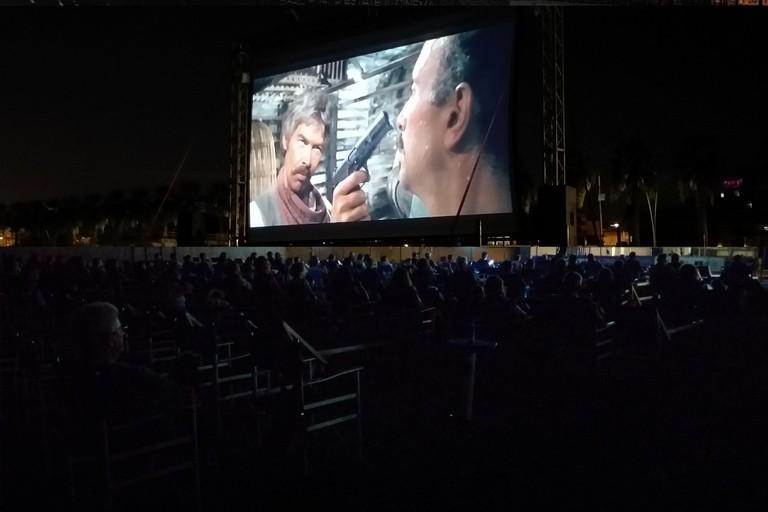 Il cinema tra sabbia e stelle