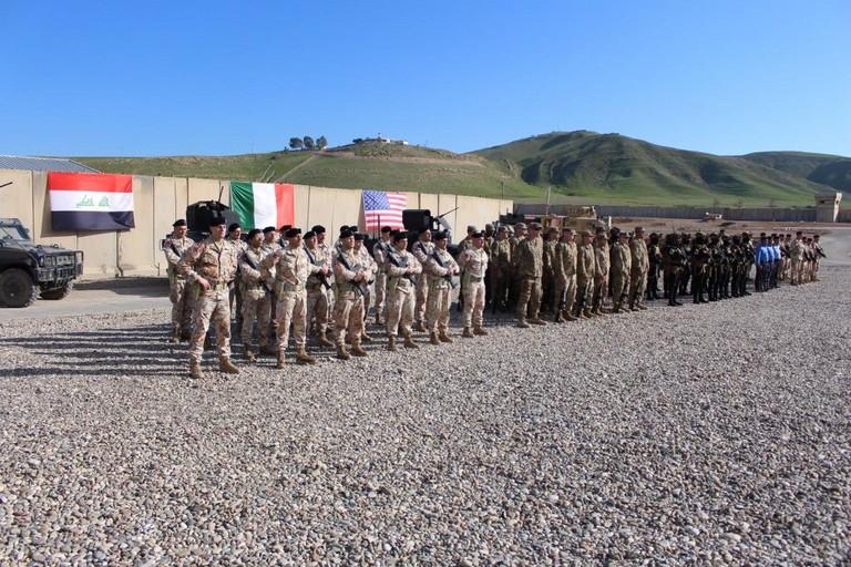 Cambio al vertice della Task Force Praesidium in Iraq