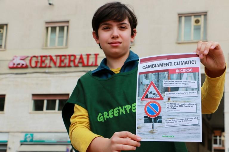 Greenpeace a Barletta