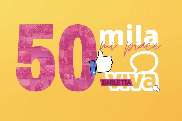 50mila like su Facebook