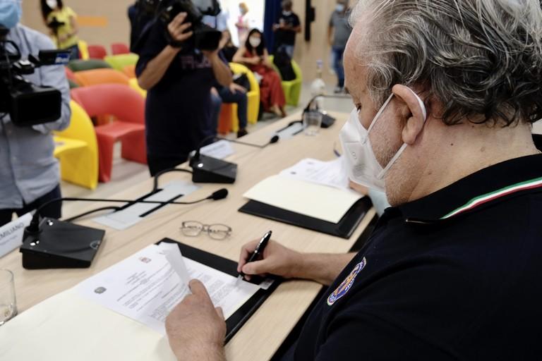Sottoscritto un nuovo protocollo tra Regione Puglia e Ministero dell'Interno