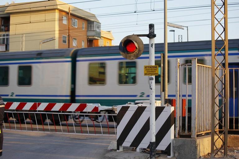 Addio per sempre al passaggio a livello di via Andria. <span>Foto Ida Vinella</span>