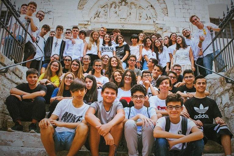 """""""Scopriamo Barletta"""" con oltre cento studenti del Liceo """"Cafiero"""" di Barletta"""
