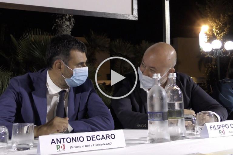 Antonio Decaro e Filippo Caracciolo