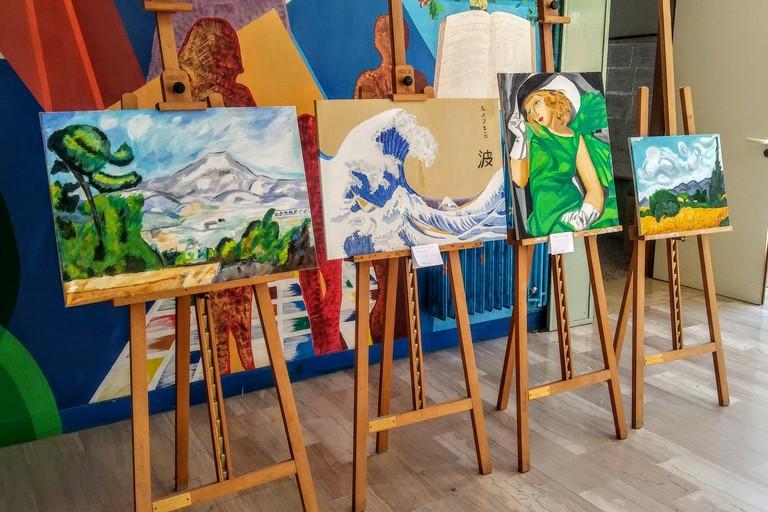 Arte e Vino in mostra