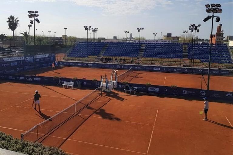 Allenamenti al circolo tennis