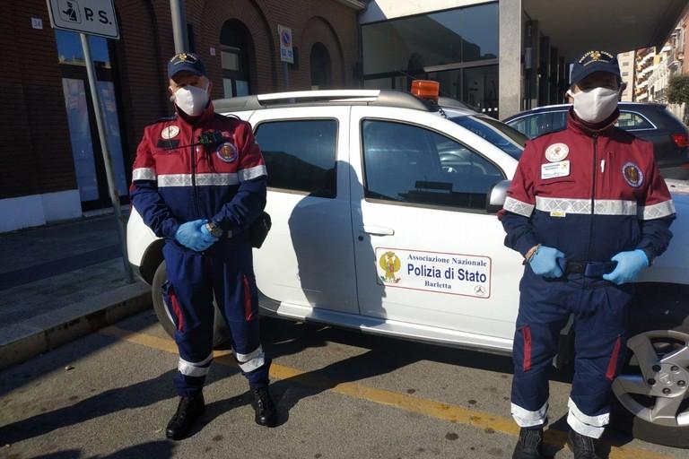 Azienda di Barletta dona 150 mascherine ai volontari A.N.P.S.