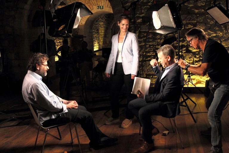 Barletta con il maestro Lotoro in onda sulla CBS