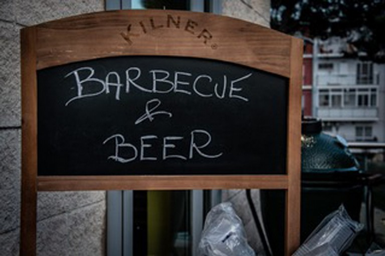 Barbecue and Beer