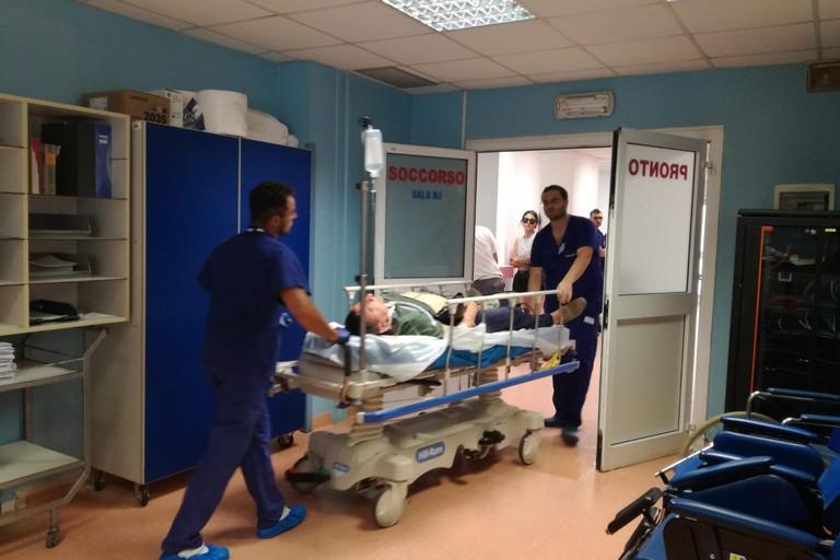 Maxiemergenza a Barletta, simulazione all'ospedale