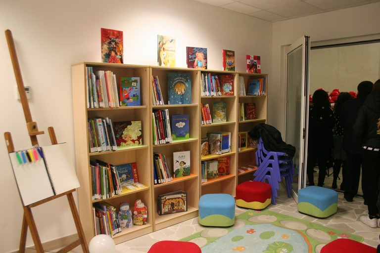 Il Parco dell'Umanità si illumina di cultura: inaugurata la nuova biblioteca