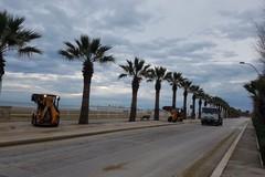 Rimossi i pericolosi cumuli di sabbia lungo le litoranee cittadine