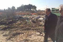 Scompare il campo rom in zona 167 alla presenza del Sindaco