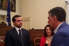 Il sindaco di Barletta incontra il Sottosegretario all'Interno Sibilia